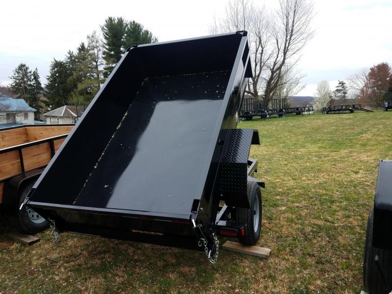 2021 Pequea C500 5x8 Dump Trailer