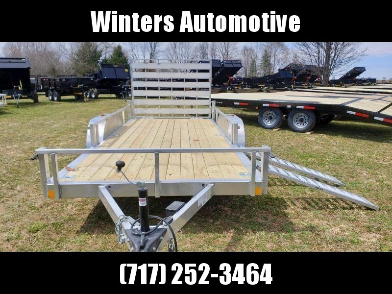 2021 Rance Aluminum Trailers RRU6516TA2 ATV Trailer