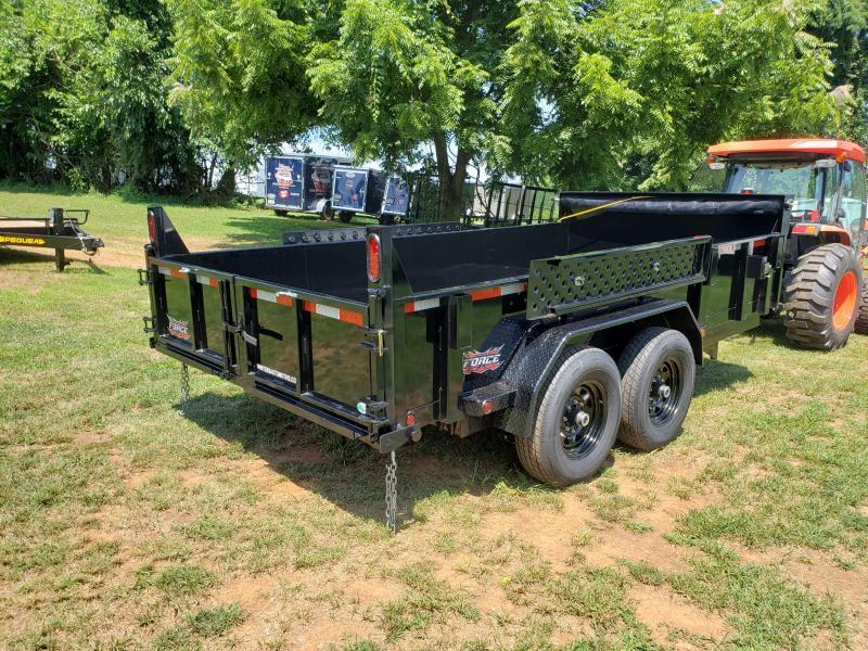 2021 Forest River Inc. FORCE 6.8X14 Dump Trailer