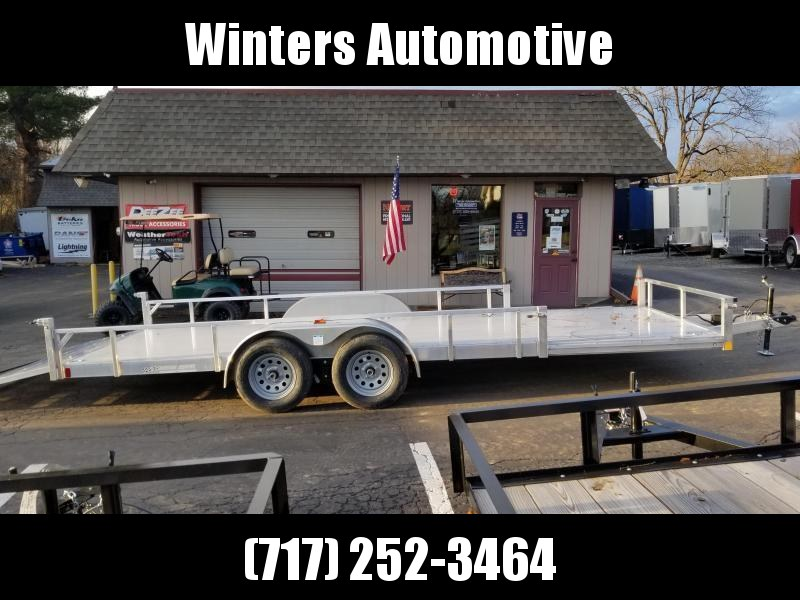 2021 Rance Aluminum Trailers RRU6520TA2 ATV Trailer