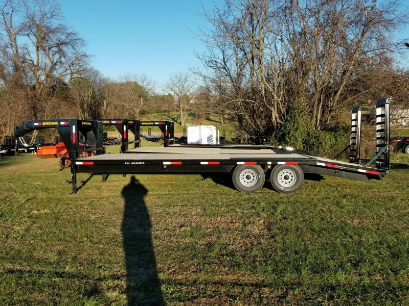 2021 Pequea GOOSENECK DECKOVER Equipment Trailer