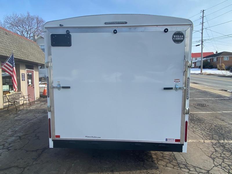 2021 Wells Cargo RF8516T2 Enclosed Cargo Trailer