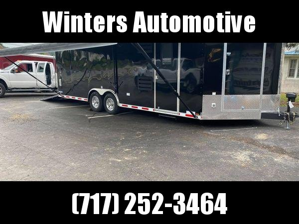 2021 Continental Cargo AM85 X 24 TA MOTORCYCLE Motorcycle Trailer