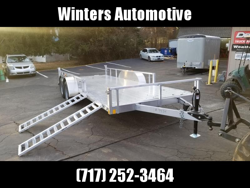 2021 Rance Aluminum Trailers RRU6514TA2 ATV Trailer