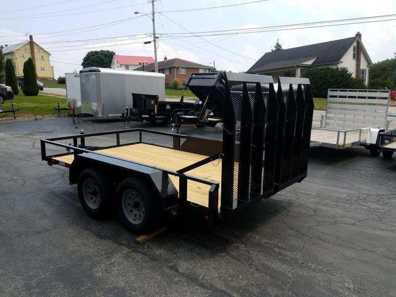 2021 Pequea 80x12 Tandem Axle Utility Trailer