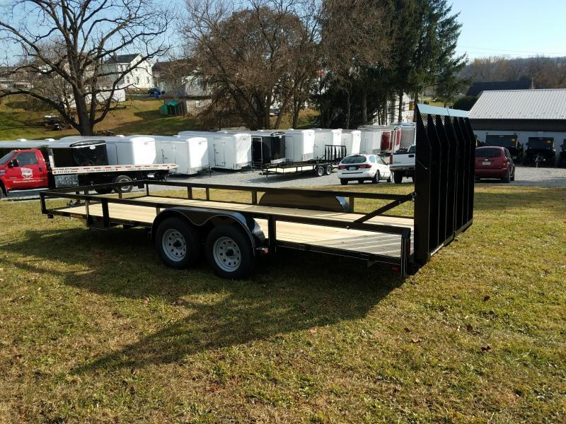 2022 Pequea 80X20 Utility Trailer With Ramps