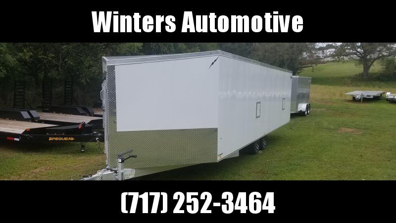2021 Lightning Trailers LTFES824TA Snowmobile Trailer