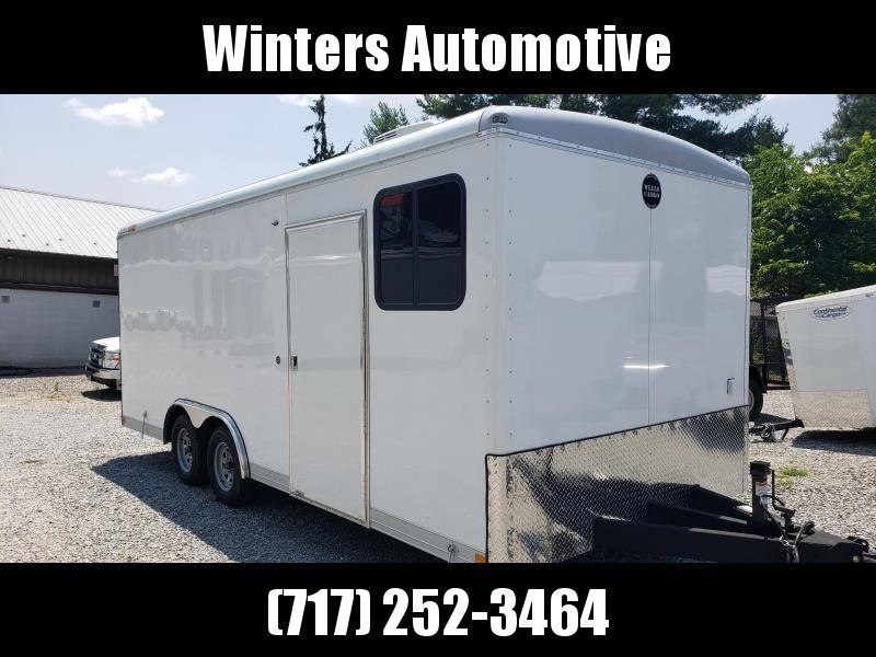2020 Wells Cargo WHD8520TA2 OFFICE TRAILER Enclosed Cargo Trailer