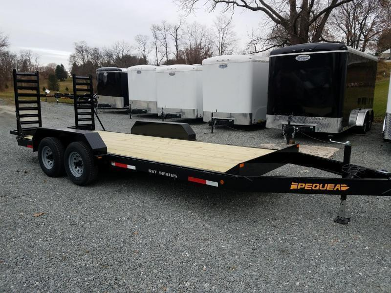 2021 Pequea SKID STEER 20 Equipment Trailer