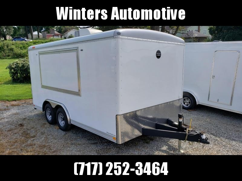 2021 Wells Cargo WGD 8.5 x 16 TA2 Concession Enclosed Cargo Trailer