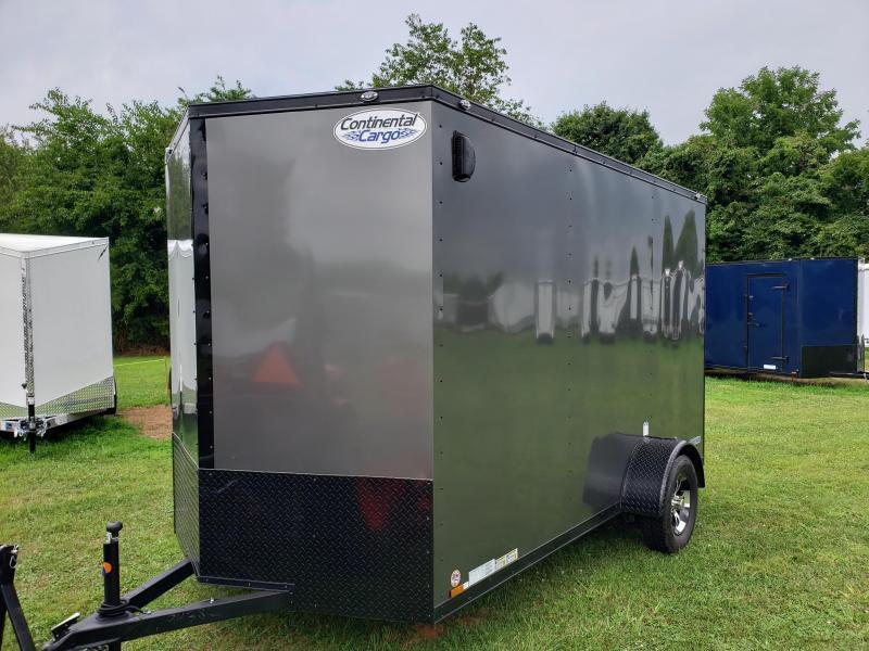 2021 Continental Cargo VHW612SA Enclosed Cargo Trailer