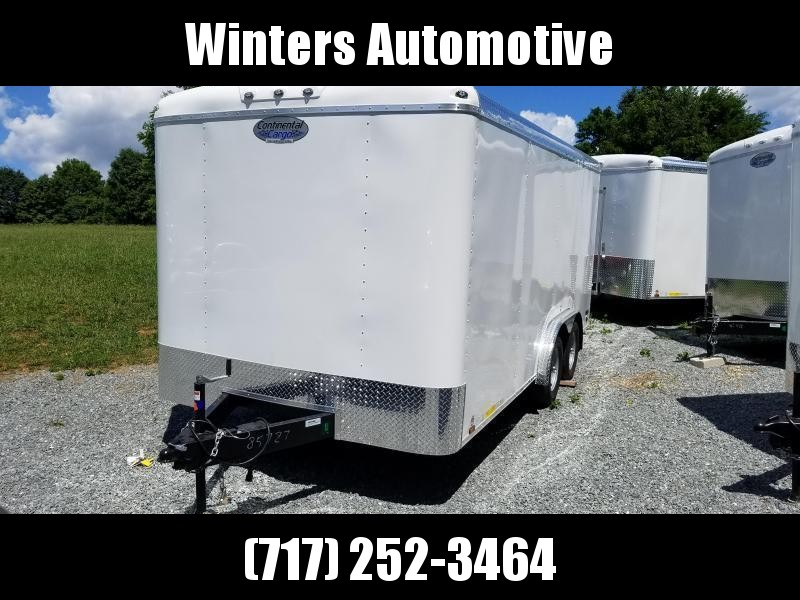 2021 Continental Cargo TW8516TA2 Enclosed Cargo Trailer