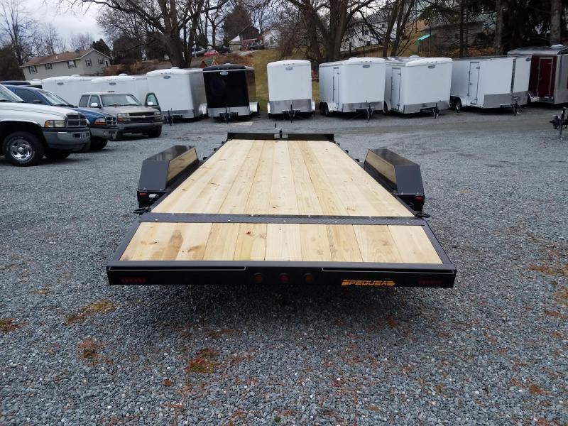 2020 Pequea CH 20 Car / Racing Trailer