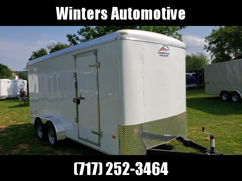 2020 American Hauler AFX716TA2 Enclosed Cargo Trailer
