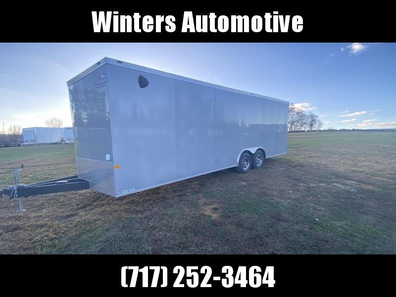 2021 American Hauler MACH 8.5X24 TA3 Car / Racing Trailer
