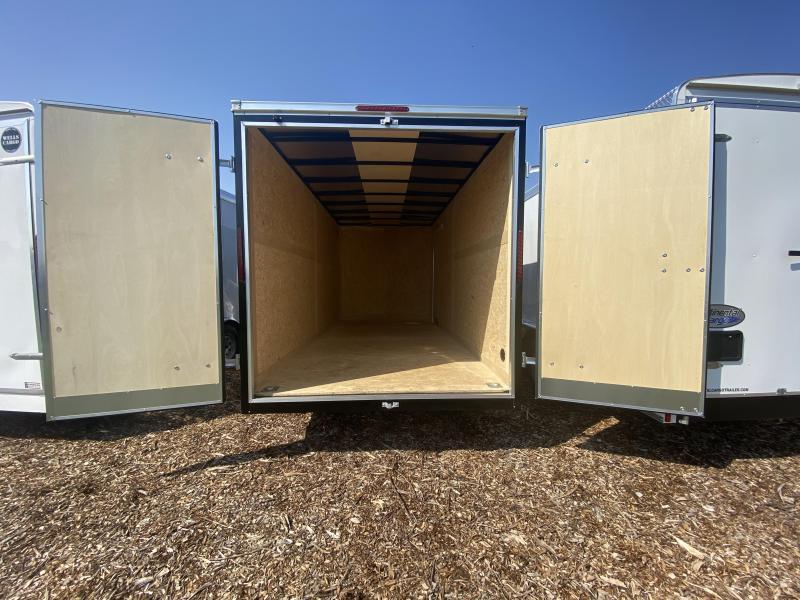 2021 Haulmark PP716T2 Enclosed Cargo Trailer BARN DOOR