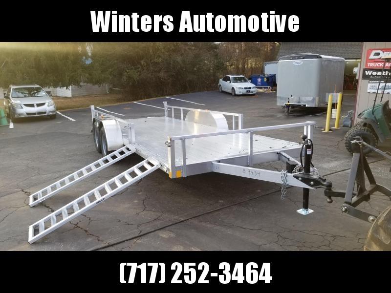 2021 Rance Aluminum Trailers RRU6514TA2 ATV Trailer
