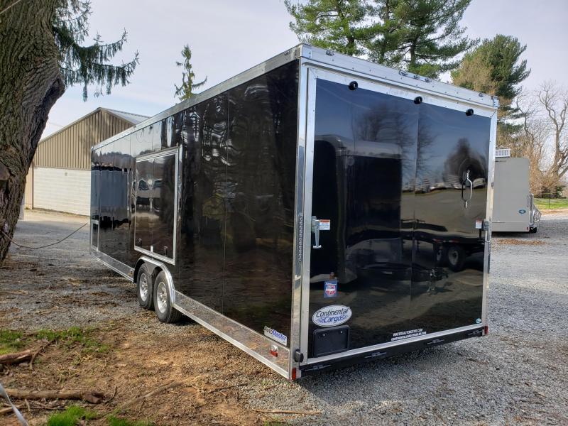 2020 Continental Cargo AM8.5X28TA3 Enclosed Cargo Trailer