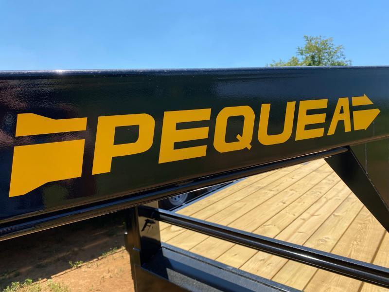 2021 Pequea GOOSENECK 20' DECKOVER Equipment Trailer