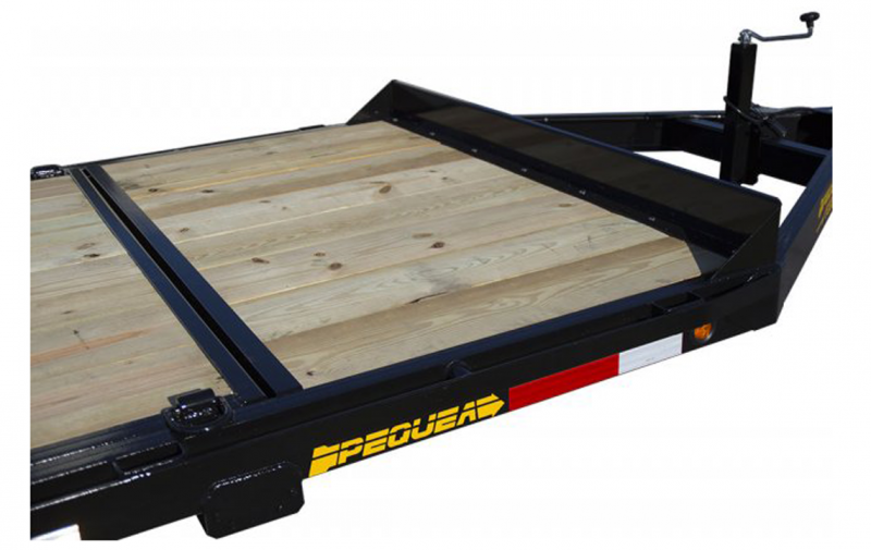 2021 Pequea T200 20 TILT DECK Equipment Trailer