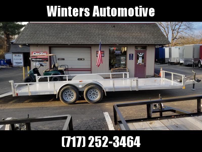 2021 Rance Aluminum Trailers RRU6520TA2 ATV Trailer