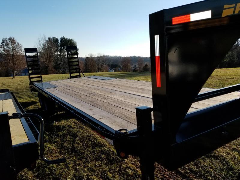 2021 Pequea GOOSENECK DECKOVER 25' Equipment Trailer