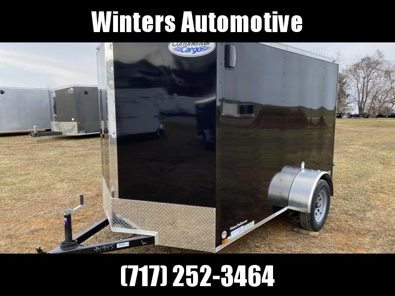 2021 Continental Cargo VHW6X10SA ENCLOSED TRAILER WITH BARN DOORS Enclosed Cargo Trailer