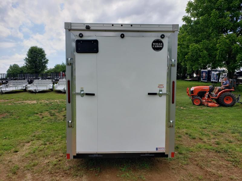 2020 WELLS CARGO RF612S2 ENCLOSED TRAILER