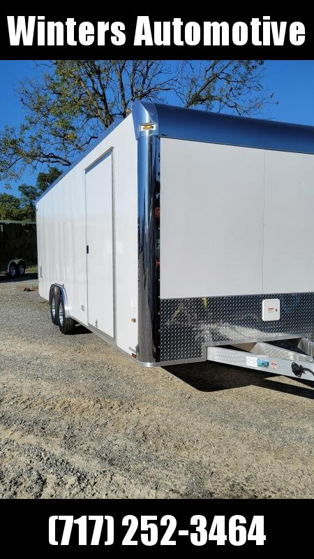 2021 Lightning Aluminum Trailers  8.5X24 TA Car / Racing Trailer