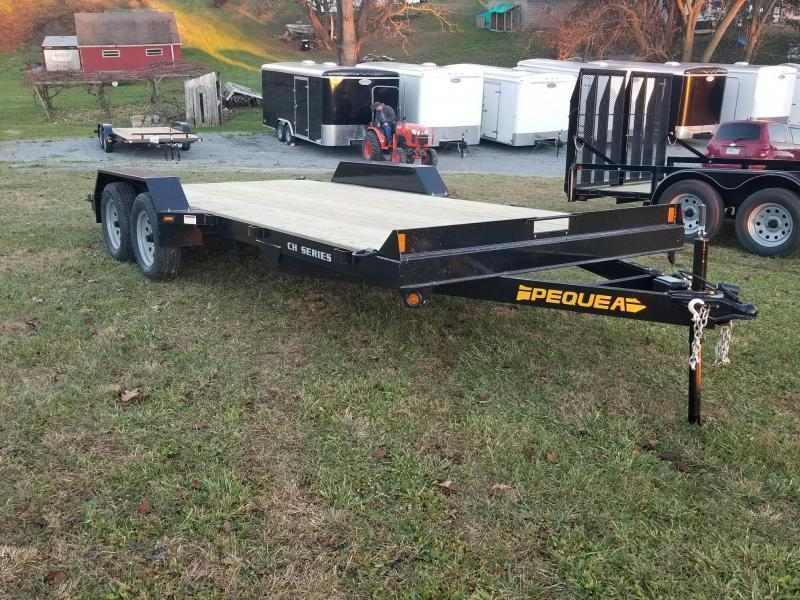 2021 Pequea CH 8.5X18 CAR HAULER Car / Racing Trailer
