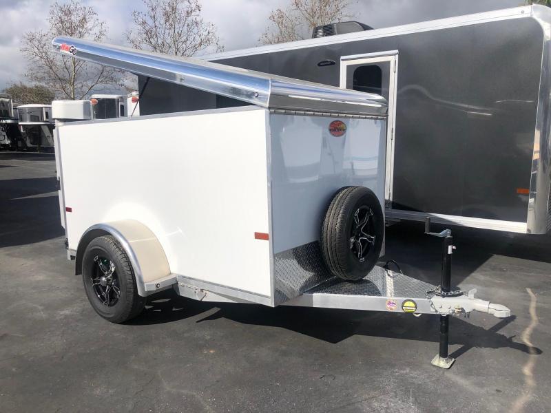 2021 Sundowner Mini-Go 5 x 8 Cargo Trailer 4' Tall