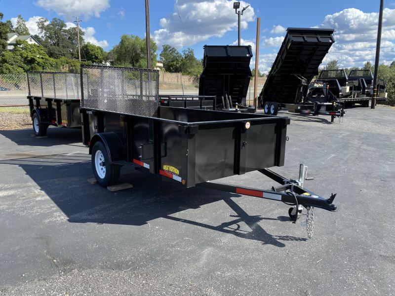 2020 Great Northern Trailer Works 5 x 10 Landscape Utility Trailer