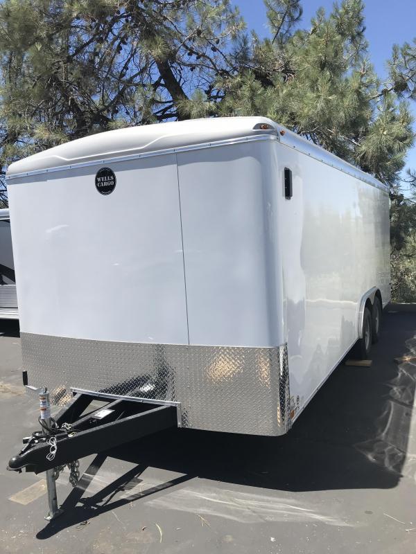 2019 Wells Cargo 8.5 x 20 Road Force TA Enclosed