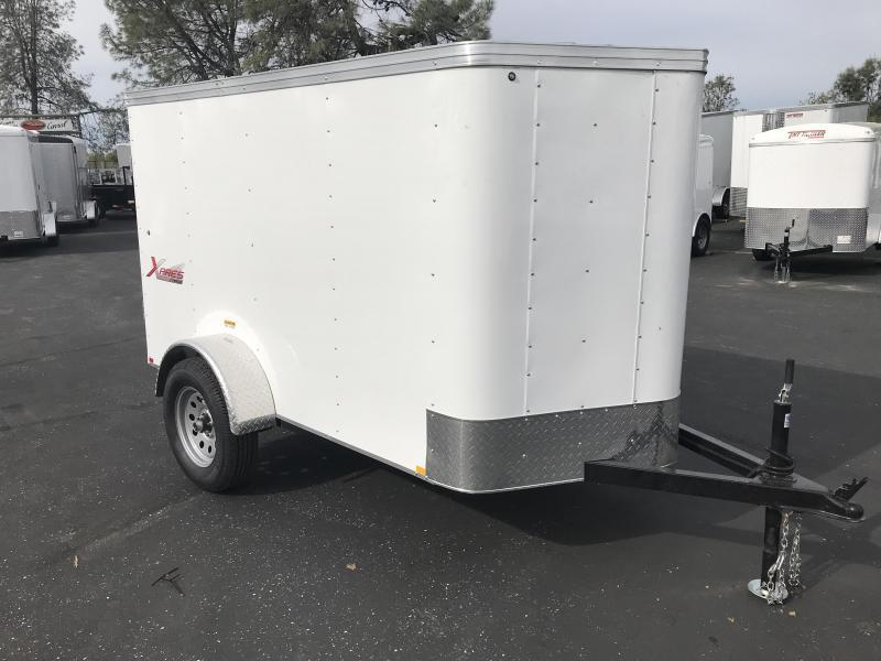 2019 TNT 5 x 8 XPRES V Nose Cargo Trailer