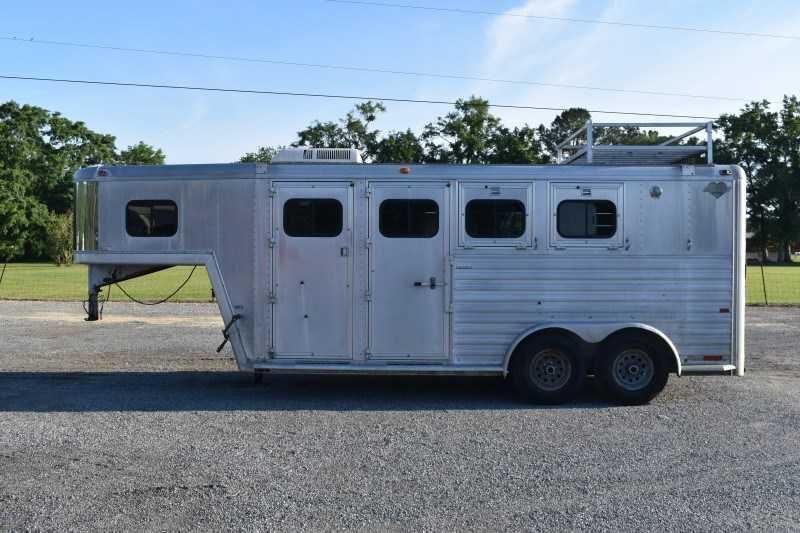 1997 Safr Horse Trailers 7304GN Horse Trailer