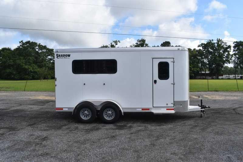2022 Shadow Trailers 3HBPDLX Horse Trailer