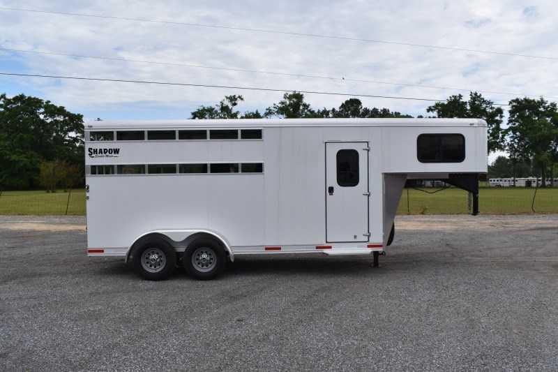 2021 Shadow Trailers 3HSLGN Horse Trailer