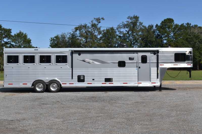 2021 SMC Horse Trailers SL8415SRKCE Horse Trailer