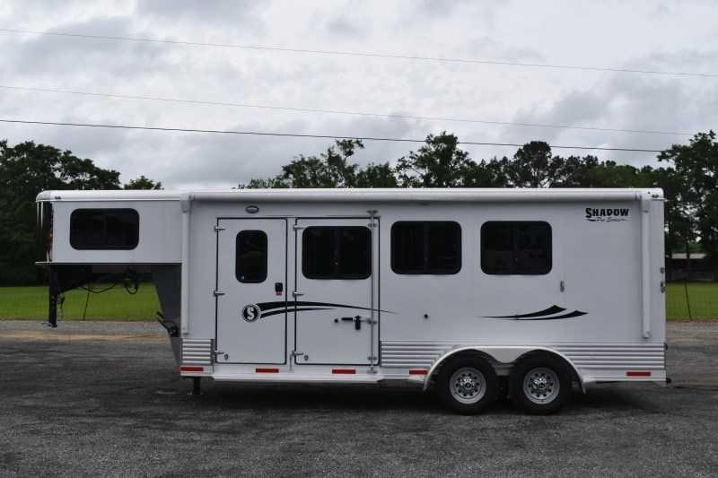 2021 Shadow Trailers 3HSLGN Pro Slant Horse Trailer