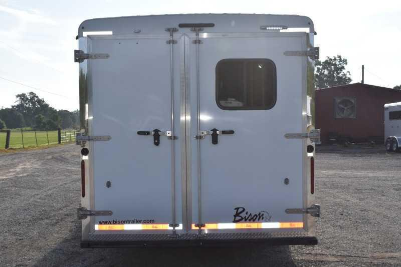 2022 Bison Trailers Ricochet 8411B Horse Trailer