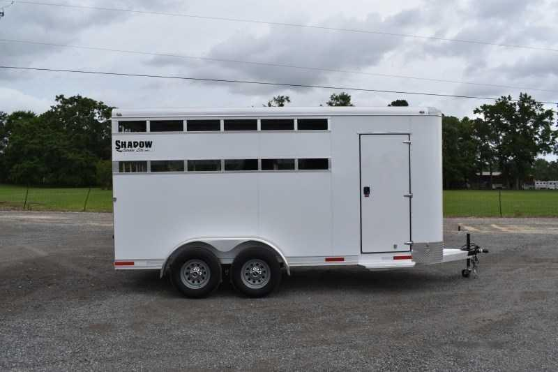 2022 Shadow Trailers 3HBPSL Horse Trailer