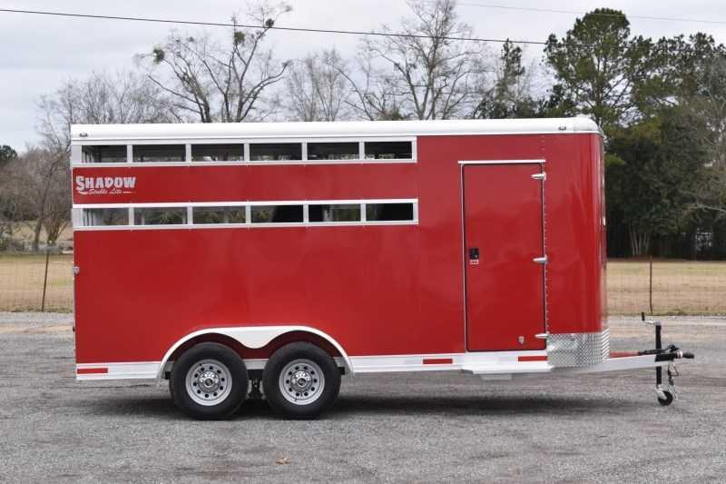2021 Shadow Trailers 3HBPSL Horse Trailer
