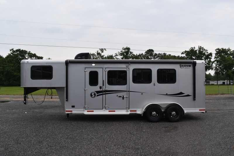 2021 Shadow Trailers 7306LQ Plus Pack II Horse Trailer