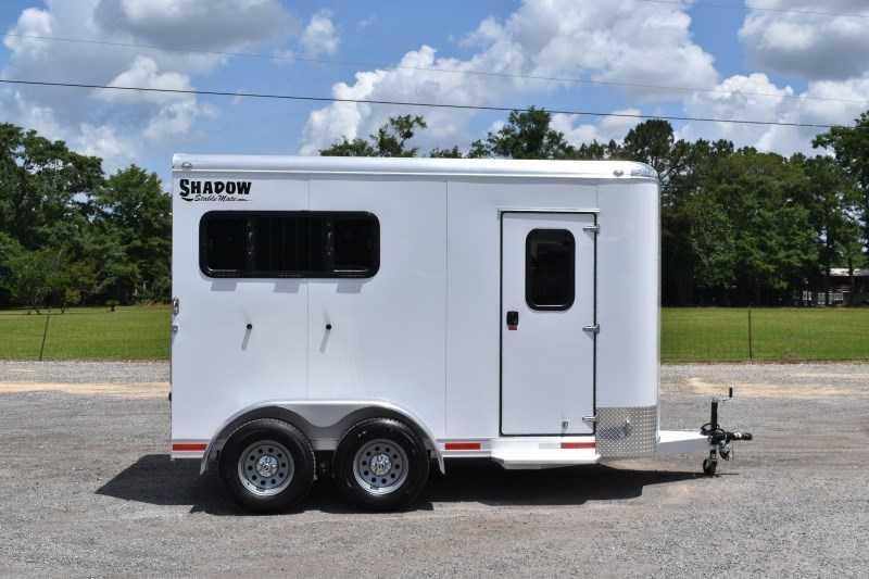 2022 Shadow Trailers 2HBPDLX Horse Trailer