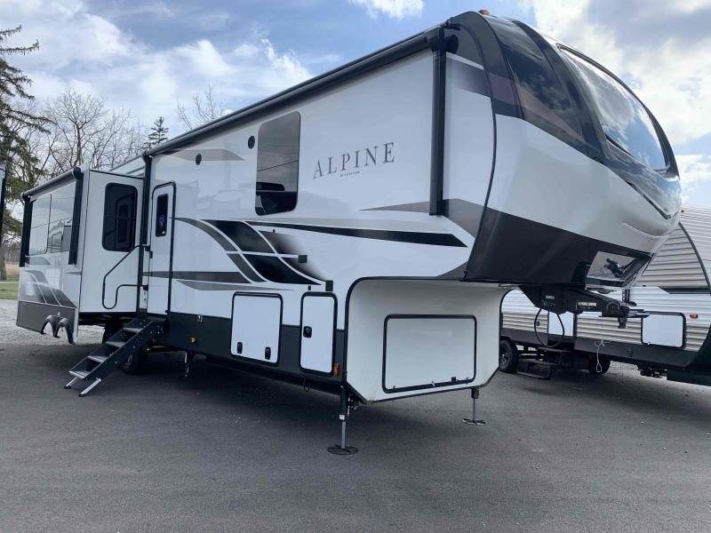2021 Keystone RV 3650RL Alpine Fifth Wheel Campers
