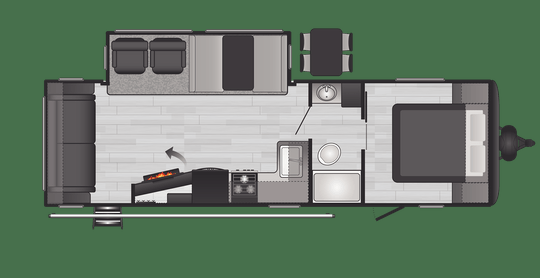 2021 Keystone RV 27RLS Hideout Travel Trailer