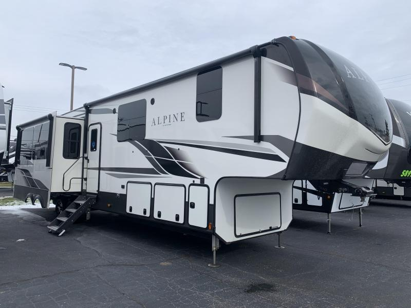 2021 Keystone RV 3910RK Alpine Fifth Wheel Campers