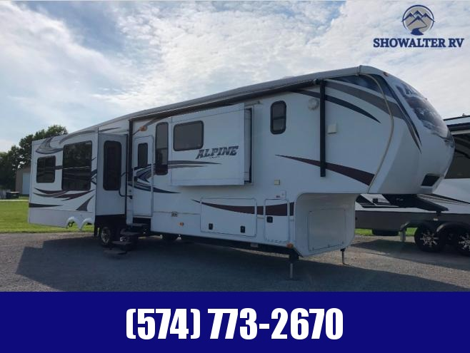 2013 Keystone RV Alpine 3720FB