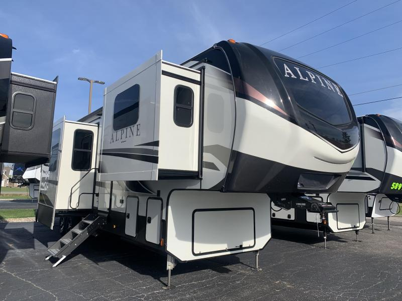 2021 Keystone RV 3712KB Alpine Fifth Wheel Campers