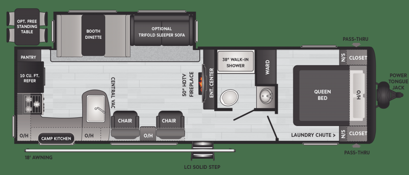 2021 Keystone RV 28RKS Hideout Travel Trailer